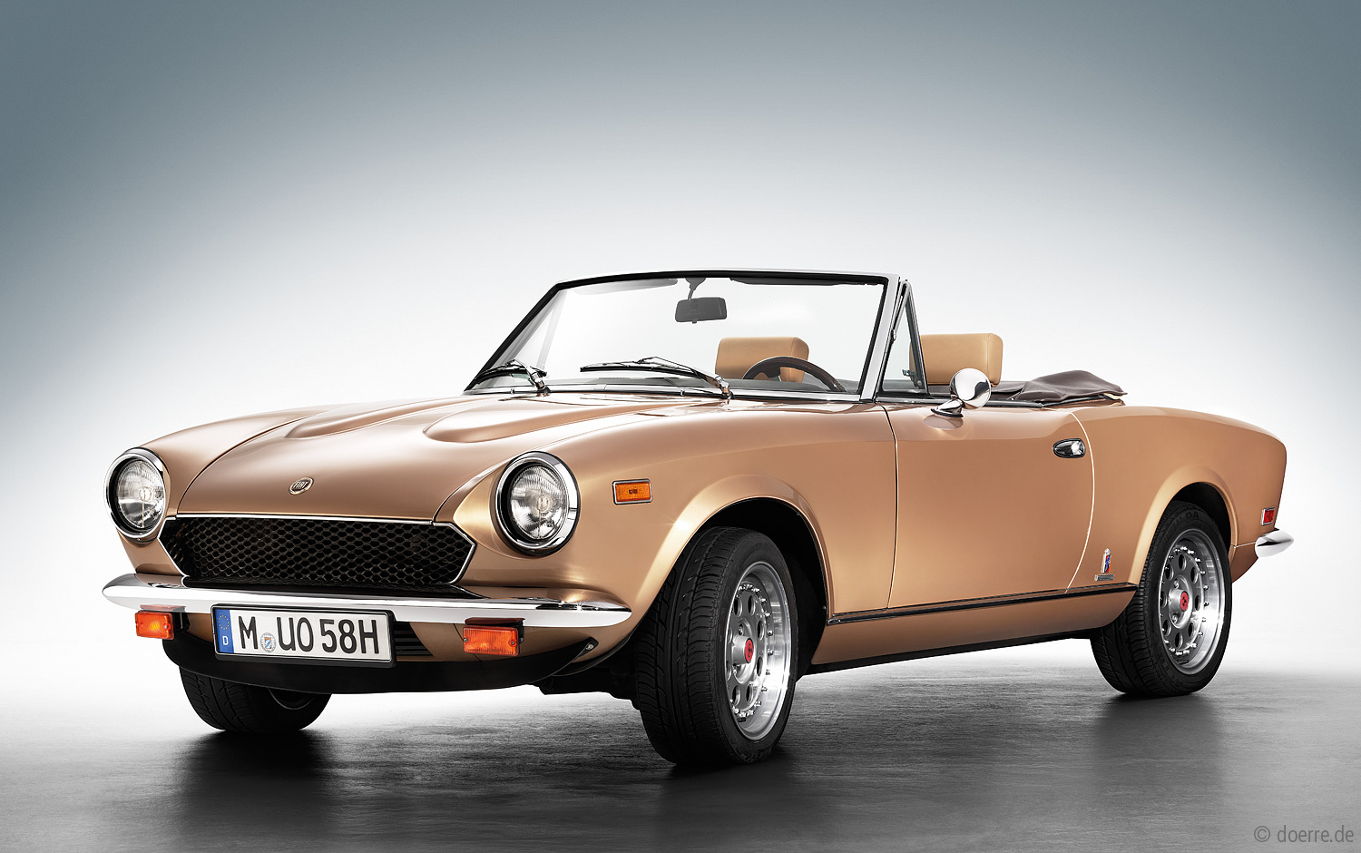 Cabriotrume 2015 Cars Doerre Fotodesign 1971 Fiat 124 Sport Spider Previous Image Erstzulassung 1980 2000 Injection Pininfarina 50th Golden Anniversary Edition